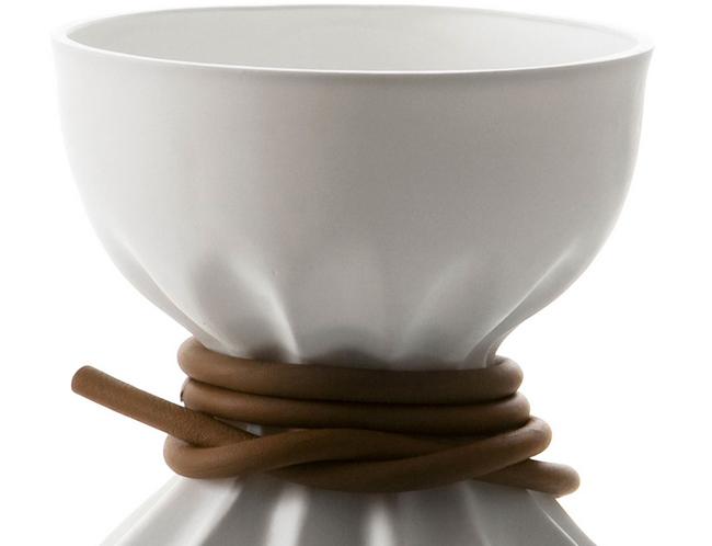 Lampe design porcelaine Limoges