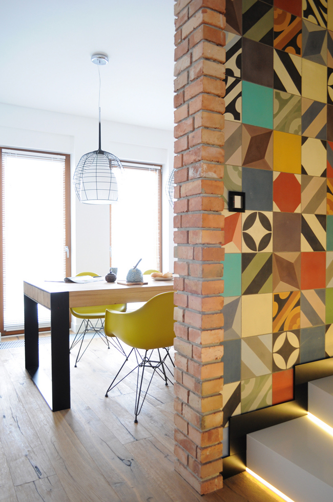 Maison decoration vintage et coloree 12