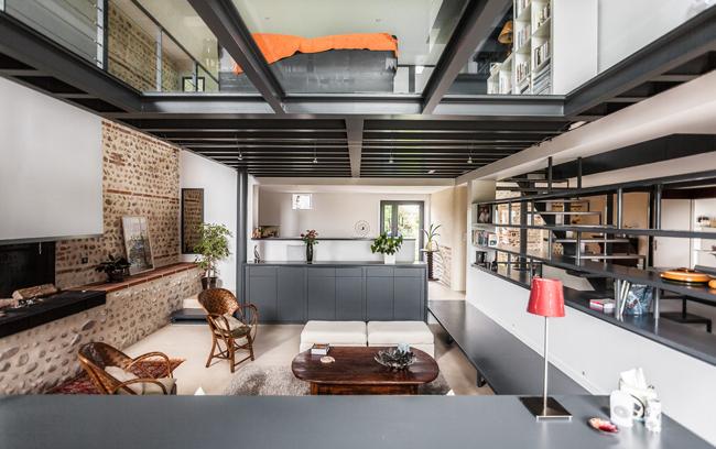 Maison renovée - cuisine naturelle