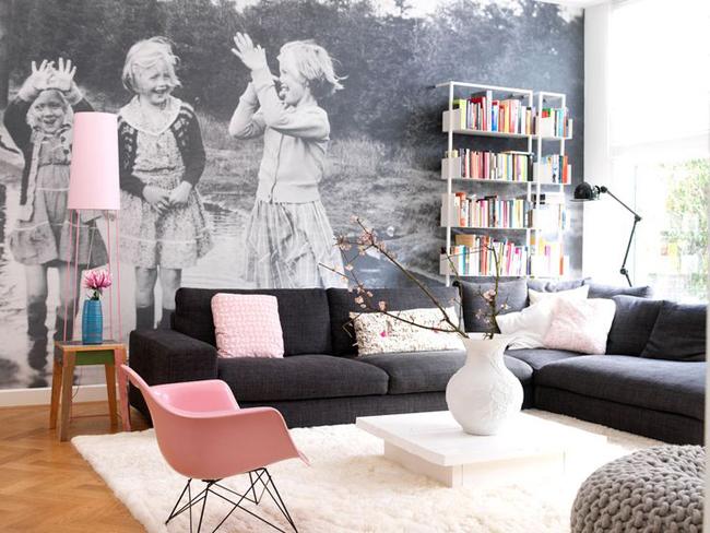 D coration avec un fauteuil eames rose for Fauteuil eames rose