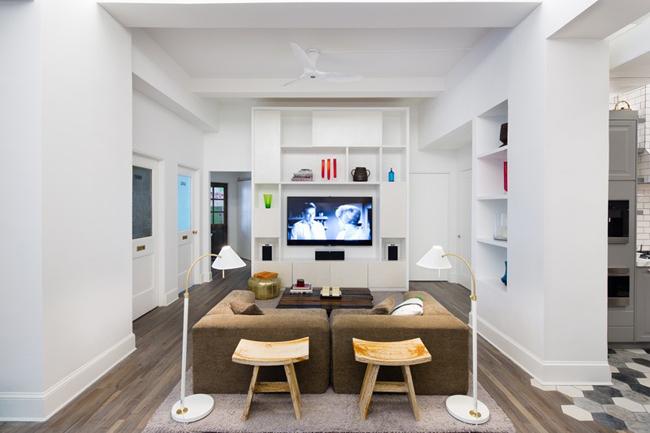 d coration ethnique pour un loft new yorkais. Black Bedroom Furniture Sets. Home Design Ideas
