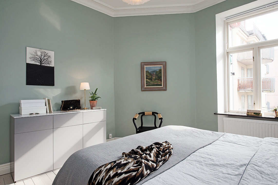 deco chambre vert d eau avec des id es. Black Bedroom Furniture Sets. Home Design Ideas