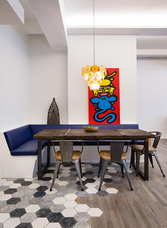d233coration ethnique pour un loft newyorkais