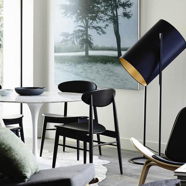 Salle manger noire et blanche - Tapisserie noire et blanche ...
