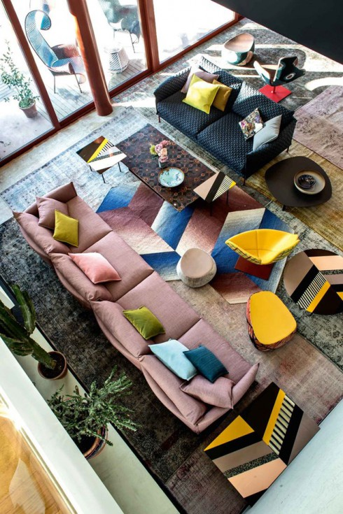salon amenage par moroso