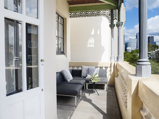 terrasse amenagee