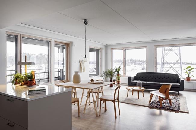 Appartement lumineux et original 2