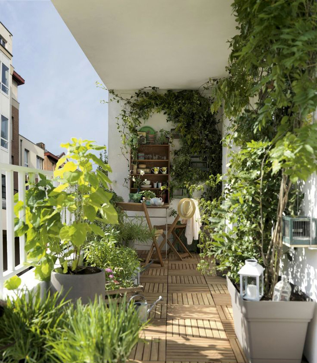10 id es pour am nager un balcon - Amenager petit balcon appartement ...