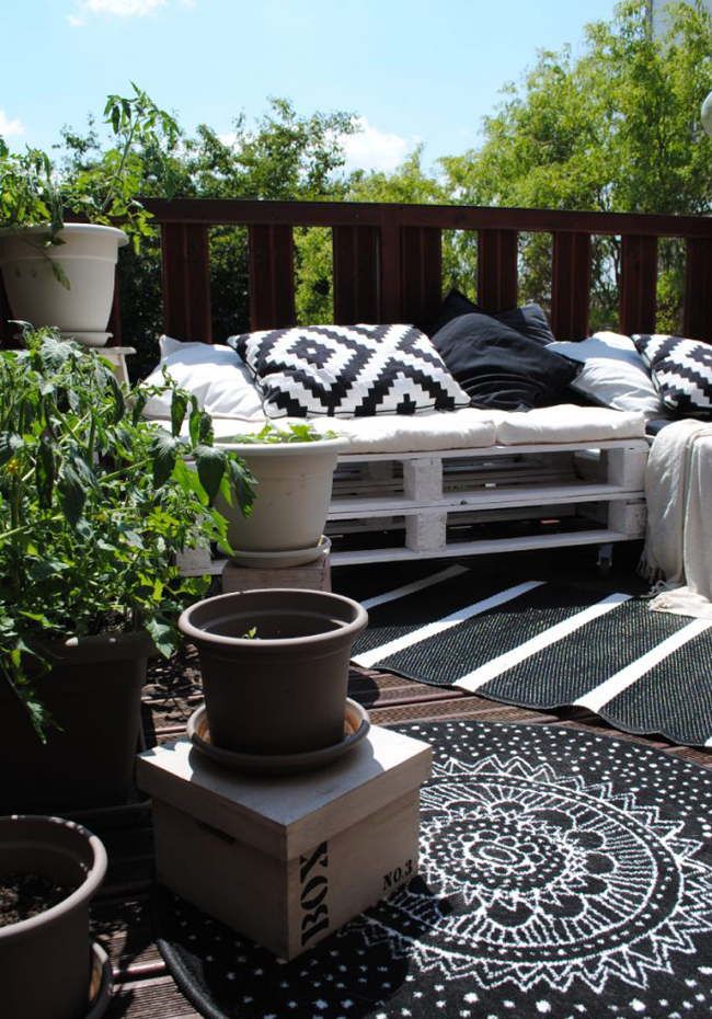 10 id es pour am nager un balcon for Idee pour amenager son jardin