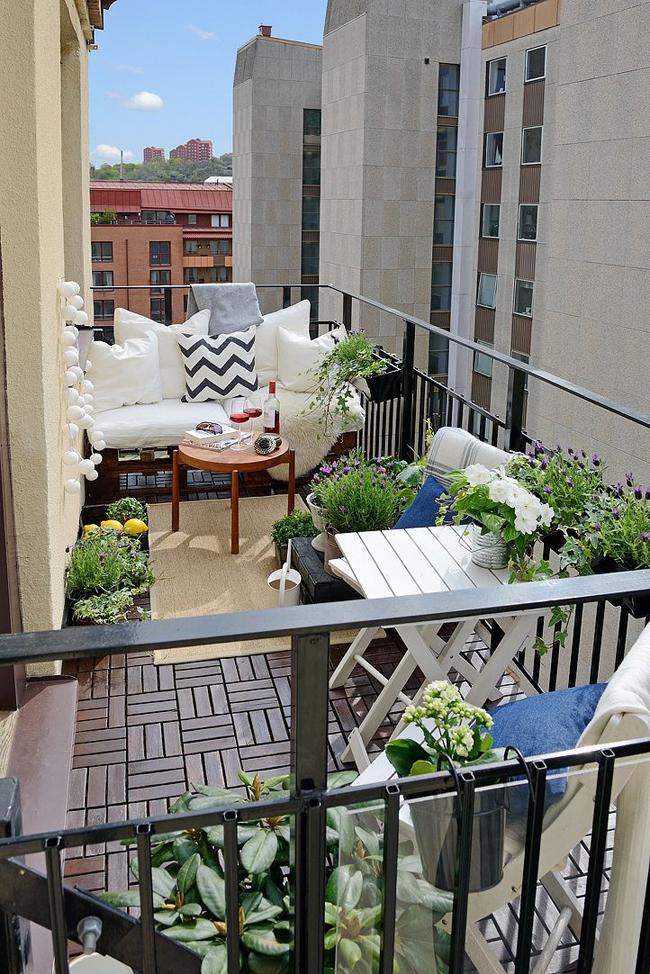 Decorer petit balcon - Mobilier pour petit balcon ...