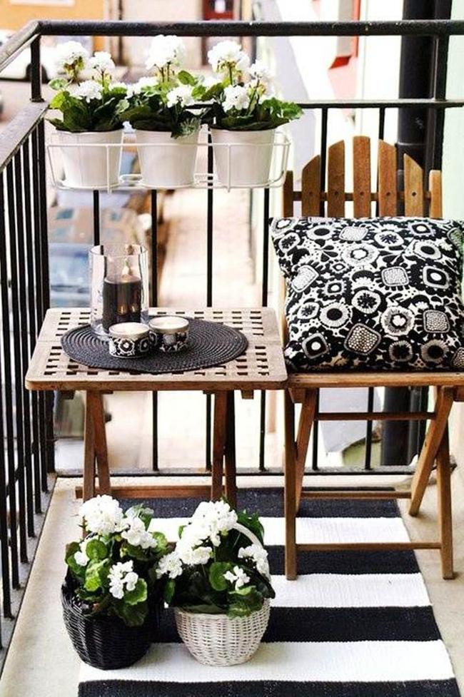 10 idées pour aménager un balcon