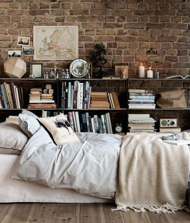 10 id es d co avec un mur en briques. Black Bedroom Furniture Sets. Home Design Ideas