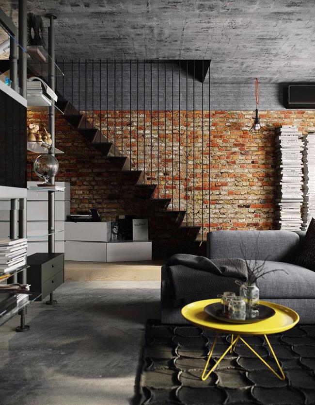 idee deco mur de briques 6