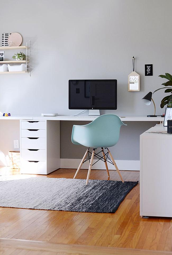 10 id es pour am nager un bureau. Black Bedroom Furniture Sets. Home Design Ideas