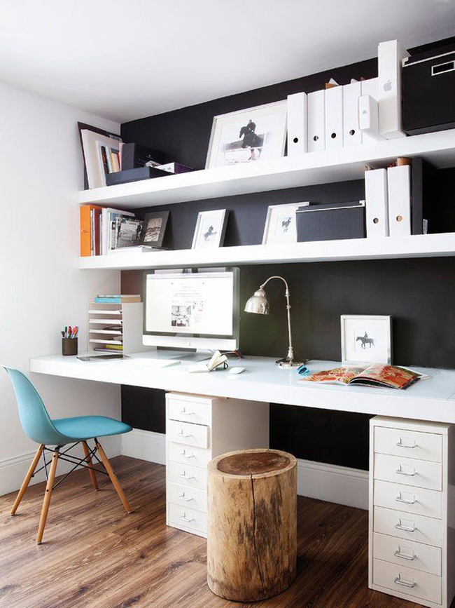 10 id es pour am nager un bureau. Black Bedroom Furniture Sets. Home Design Ideas