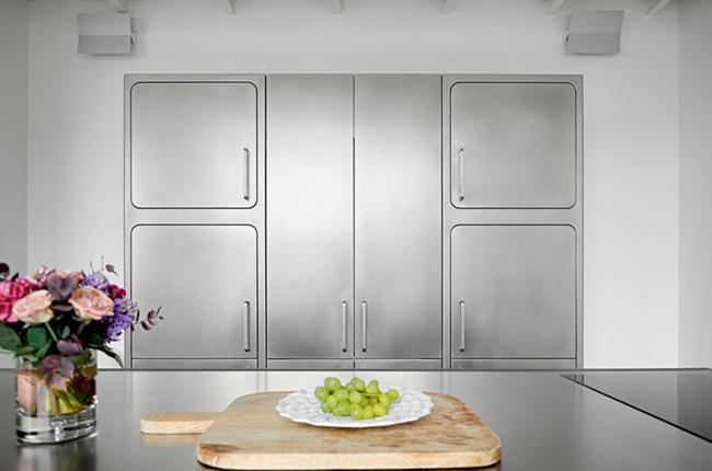 Cuisine moderne inox