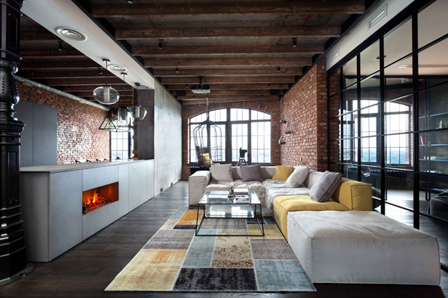 Decoration facon loft