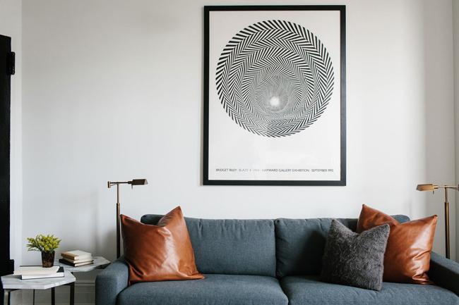 maison new yorkaise en noir et blanc 4. Black Bedroom Furniture Sets. Home Design Ideas