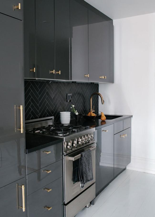 Maison new yorkaise en noir et blanc 5 - Maison en noir et blanc ...