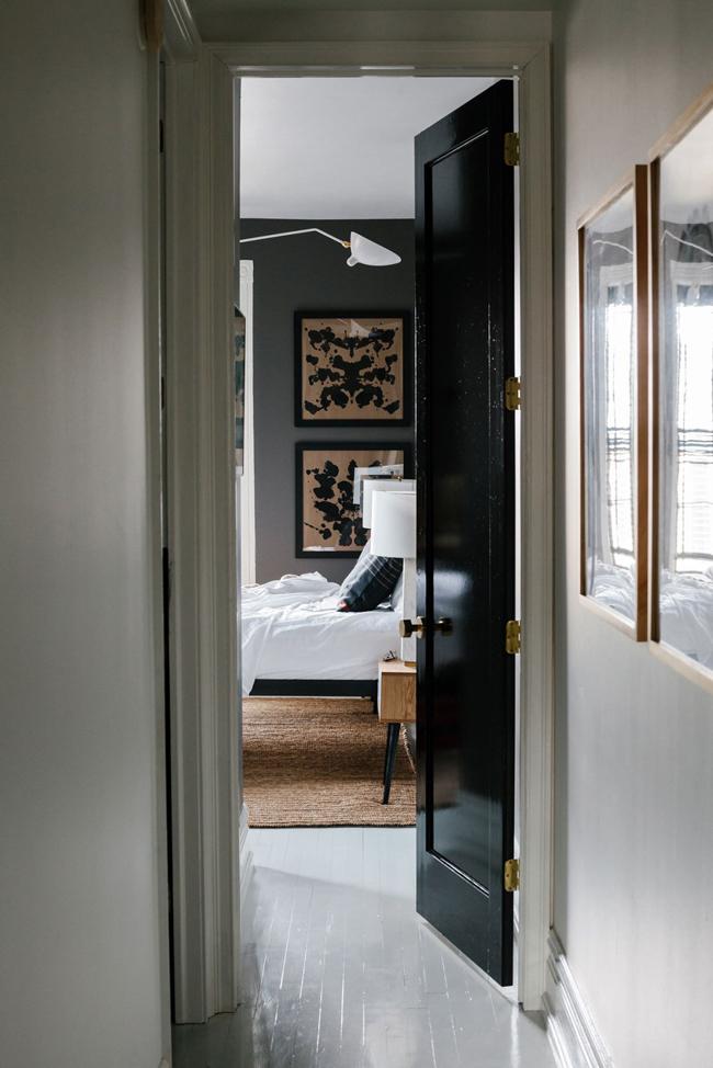 Maison new yorkaise en noir et blanc 6 - Maison noir et blanc ...