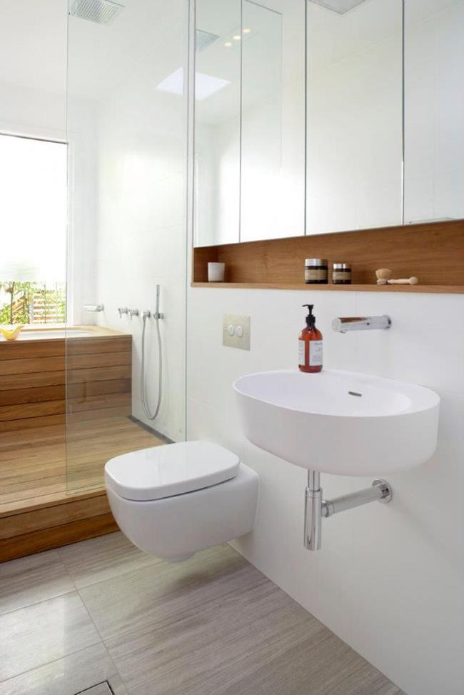 10 id es pour am nager une salle de bain - Amenagement salle bain ...