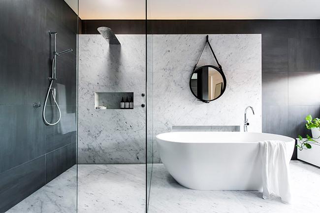Aménagement d\'une belle salle de bain