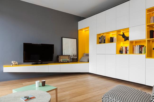 Appartement moderne et colore 3