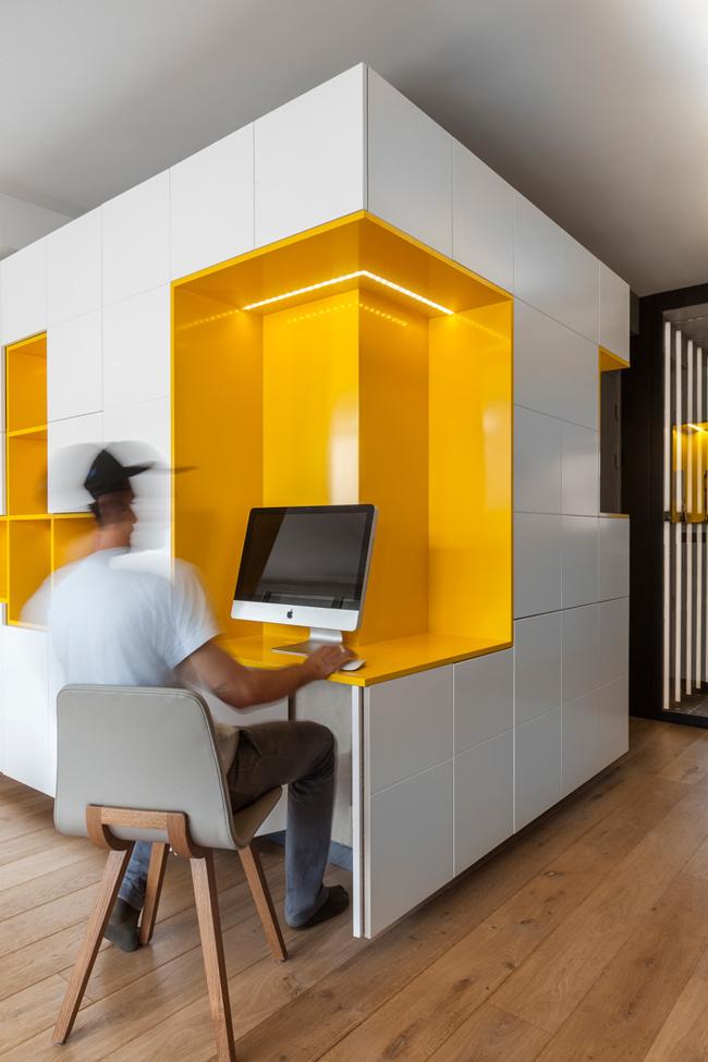 Appartement moderne et colore 4