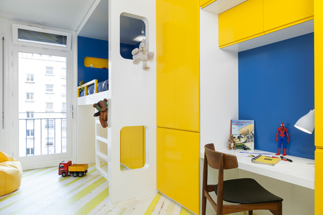 Appartement moderne et colore 9