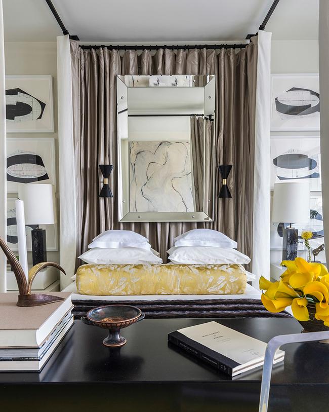 Decoration Cuisine Moderne : Revenir à larticle Chambre à la décoration chic