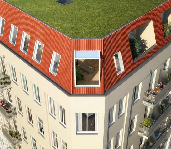 Projet appartement sous les toits 4