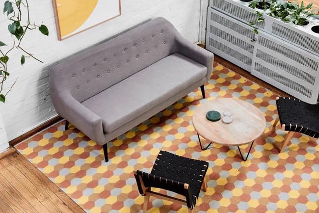 Bureau participant espace ouvert inspiration design maison
