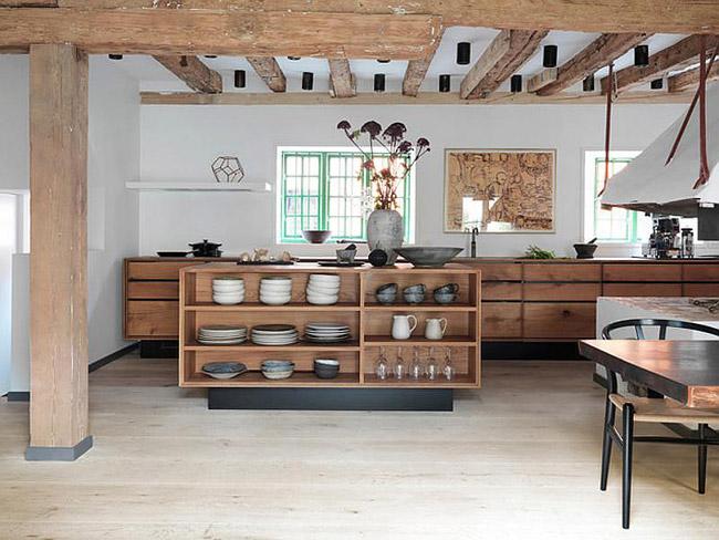 Cuisine moderne en bois for Cuisine moderne en bois 2015