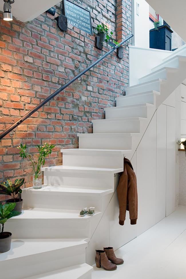 Decoration moderne et mur de briques 3