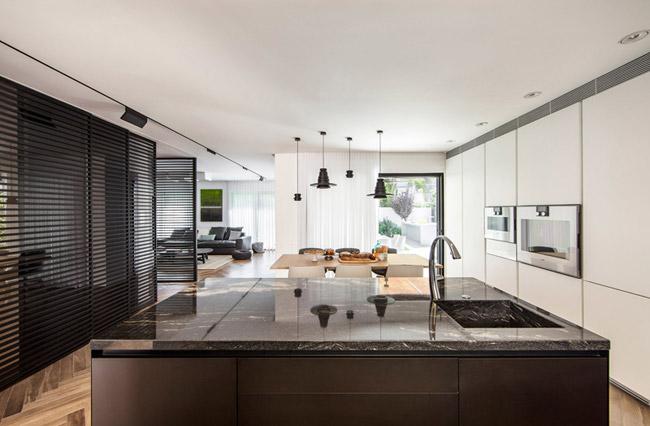 Maison design avec jardin 3