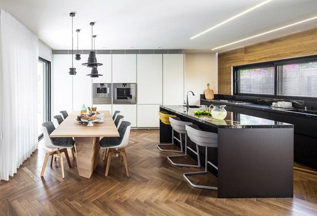 Maison design avec espace bureau - Jardin de maison design ...