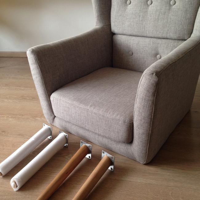 Montage fauteuil design Warhol
