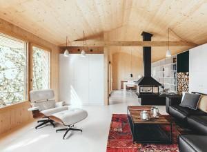 Petite maison design en bois 3