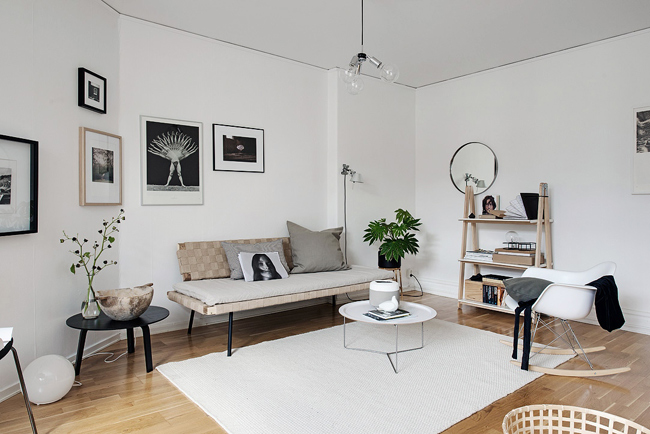 D coration scandinave studio - Decoration appartement scandinave ...