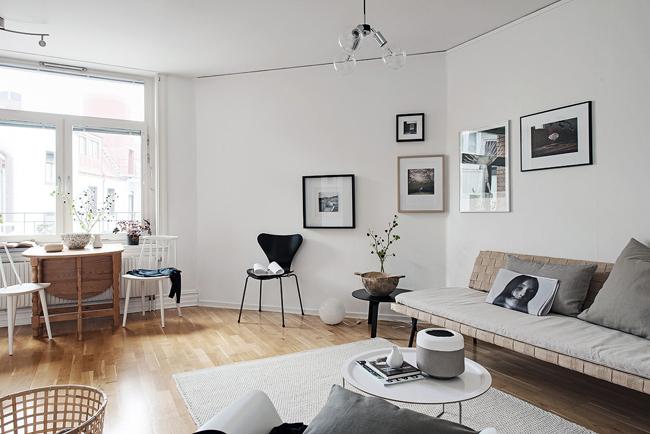 studio decoration scandinave 11. Black Bedroom Furniture Sets. Home Design Ideas