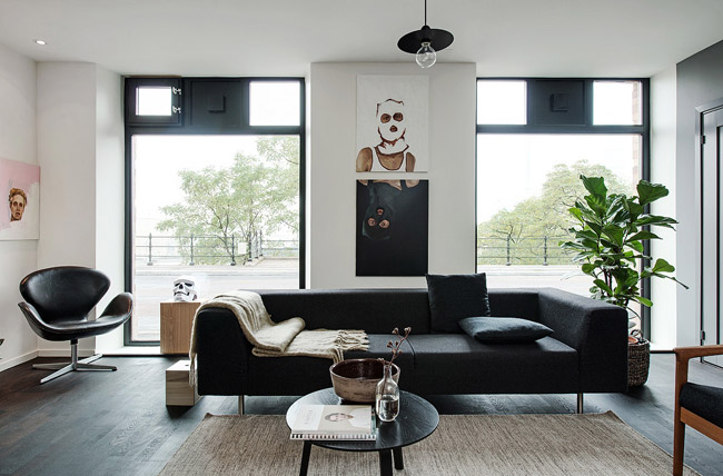 Appartement deco masculine 6