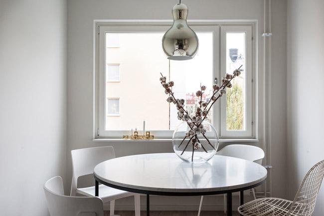 appartement la d coration minimaliste. Black Bedroom Furniture Sets. Home Design Ideas