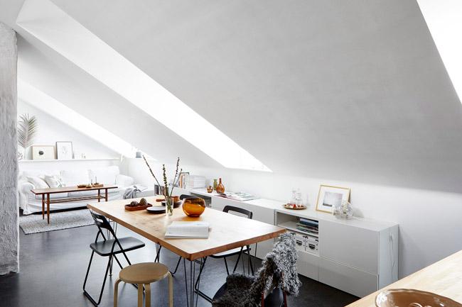 Appartement duplex scandinave 4