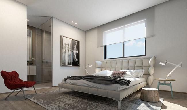 Projet 3d decoration appartement 6 for Projet appartement