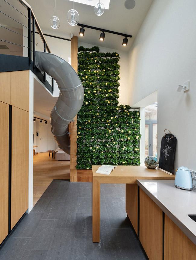 Appartement avec toboggan 2