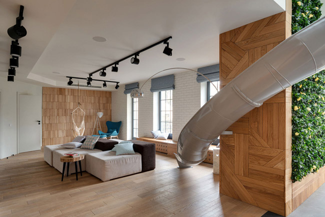 Appartement avec toboggan 5