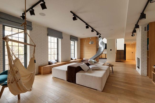 Appartement avec toboggan 7