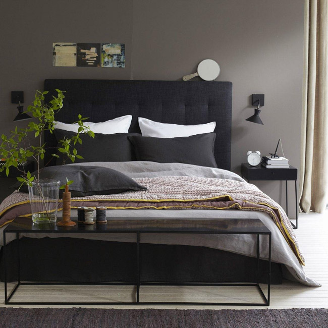 id es pour une belle t te de lit. Black Bedroom Furniture Sets. Home Design Ideas