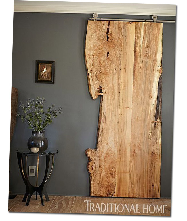 Idee deco porte coulissante 5 - Decoration de porte ...