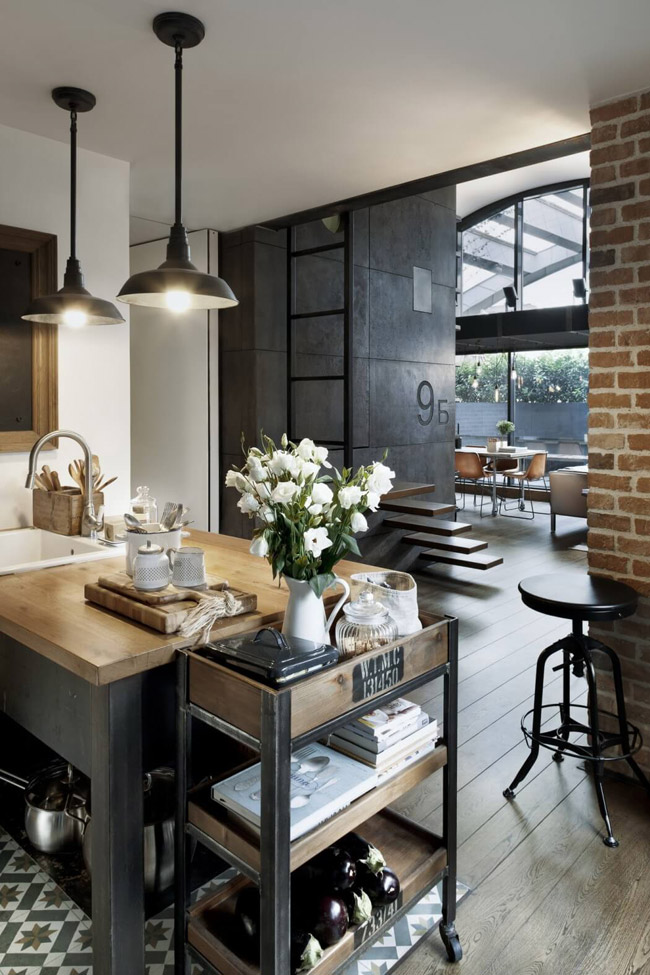 Loft style industriel for Deco loft industriel